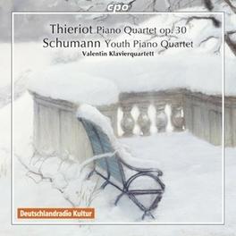 PIANO QUARTETS VALENTIN KLAVIERQUARTETT F. THIERIOT, CD