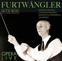 FURTWANGLER 1886-1954 *BO OPERA LIVE/BERLIN/MILANO/LONDON/BAYREUTH/NURNBERG/SALZB WILHELM FURTWANGLER, CD