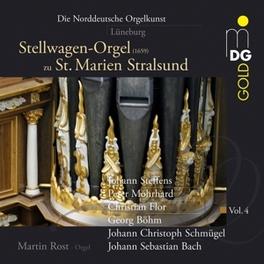 NORTH GERMAN ORGANS V.4 WORKS BY STEFFENS MARTIN ROST, CD