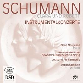 PIANO CONCERTOS ELENA MARGOLINA SCHUMANN-WIECK, C., CD