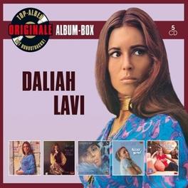 ORIGINALE ALBUM-BOX DALIAH LAVI, CD