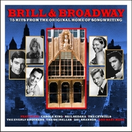 BRILL & BROADWAY 75 TIMELESS CLASSICS FROM 1619 BROADWAY V/A, CD