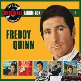 ORIGINALE ALBUM-BOX FREDDY QUINN, CD