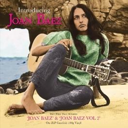 INTRODUCING -HQ- JOAN BAEZ & JOAN BAEZ VOL.2 // 180GR. JOAN BAEZ, LP