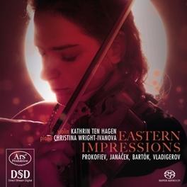 EASTERN IMPRESSIONS KATHRIN TEN HAGEN/CHRISTINA WRIGHT-IVANOVA P. VLADIGEROV, CD