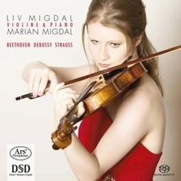 WORKS FOR VIOLIN & PIANO LIV MIGDAL/MARIAN MIGDAL L. VAN BEETHOVEN, CD