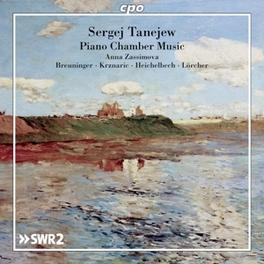 PIANO CHAMBER MUSIC ZASSIMOVA/BREUNINGER S.I. TANEYEV, CD