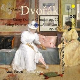 STRING QUINTET IN G.. .. MAJOR OP77/LEIPZIG STRING QUARTET/POSCH A. DVORAK, CD