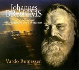 PIANO WORKS:WIEGENLIEDER VARDO RUMESSEN J. BRAHMS, CD