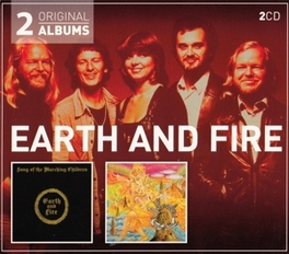 SONG OF THE../ATLANTIS .. MARCHING CHILDREN // *2FOR1* EARTH & FIRE, CD