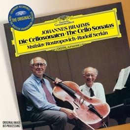 ORIGINALS:SONATAS FOR CEL MSTISLAV ROSTROPOVICH/RUDOLF SERKIN J. BRAHMS, CD