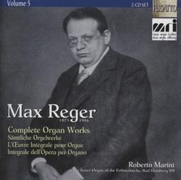 COMPLETE ORGAN WORKS.. ROBERTO MARINI M. REGER, CD