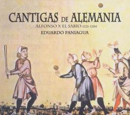 CANTIGAS DE ALLEMANA Audio CD, EDUARDO PANIAGUA, CD