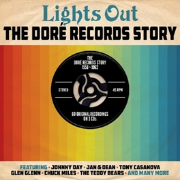 LIGHTS OUT/DORE RECORDS.. .. STORY // 60 TRACKS // JAN&DEAN,VON GAYLES,DEANE HAWL V/A, CD