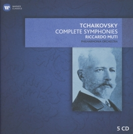 COMPLETE SYMPHONIES RICCARDO MUTI P.I. TCHAIKOVSKY, CD
