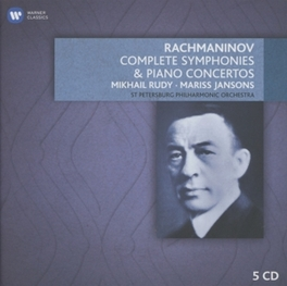SYMPHONIES AND PIANO CONC MARISS JANSONS/ST.PETERSBURG PHILHARMONIC S. RACHMANINOV, CD