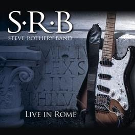 LIVE IN ROME-CD+DVD/DIGI- 2CD+DVD / DISC 3 DVD: NTSC ALL REGIONS ROTHERY, STEVE -BAND-, CD