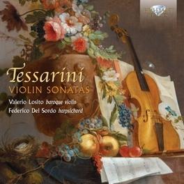 VIOLIN SONATAS VALERIO LOSITO/FEDERICO DEL SORDO C. TESSARINI, CD