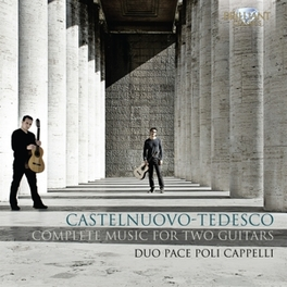 COMPLETE MUSIC FOR 2 GUIT ANDREA PACE/CRISTIANO POLI CAPPELLI Duo Pace Poli Cappelli, CD