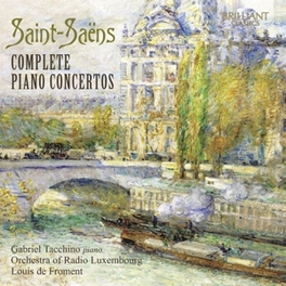 COMPLETE PIANO CONCERTOS ORCH.OF RADIO LUXEMBOURG/LOUIS DE FROMENT RTLSO, CD