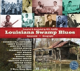 LOUISIANA SWAMP BLUES COOKIE & THE CUPCAKES/LONESOME SUNDOWN/BOOZOO CHAVIS/AO V/A, CD