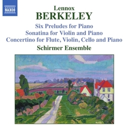 SIX PRELUDES FOR PIANO SCHIRMER ENSEMBLE L. BERKELEY, CD