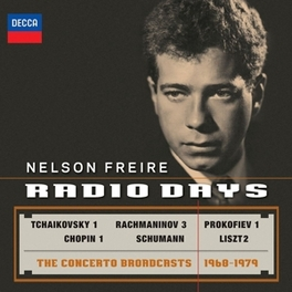 RADIO DAYS CONCERTO BROADCASTS 1969-1979 NELSON FREIRE, CD