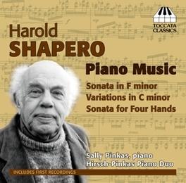 PIANO MUSIC SALLY PINKAS H. SHAPERO, CD