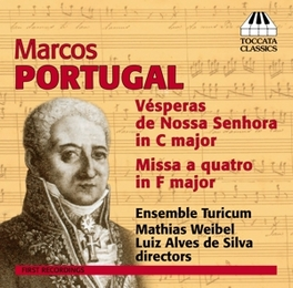 VESPERAS DE NOSSA SENHORA ENSEMBLE TURICUM/MATHIAS WEIBEL M. PORTUGAL, CD