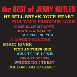 BEST OF JERRY BUTLER, CD