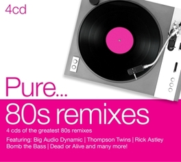 PURE...80S REMIXES V/A, CD