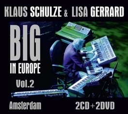 BIG IN EUROPE VOL.2 + DVD *LIVE AT MELKWEG AMSTERDAM W. LISA GERRARD (DVD2*DOCU)* KLAUS SCHULZE, CD