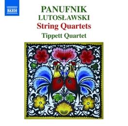 STRING QUARTETS TIPPETT QUARTET PANUFNIK/LUTOSLAWSKI, CD