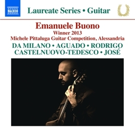 WINNER 2013 MICHELE PITTALUGA GUITAR COMPETITION ALESSANDRIA EMANUELE BUONO, CD