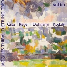 STRING TRIOS JACQUES THIBAUD STRING TRIO Jaques Thibaud String Trio, CD