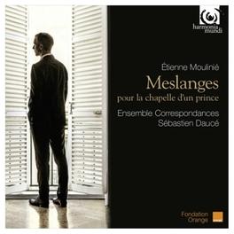 MESLANGES ENSEMBLE CORRESPONDANCES E. MOULINIE, CD