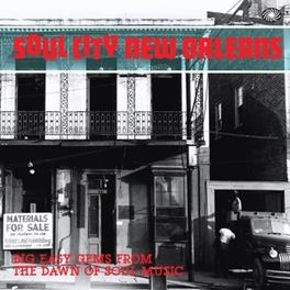 SOUL CITY NEW ORLEANS V/A, CD