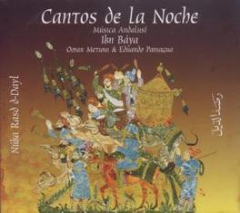 CANTOS DE LA NOCHE Audio CD, METIOUI, OMAR & PANIAGUA, CD