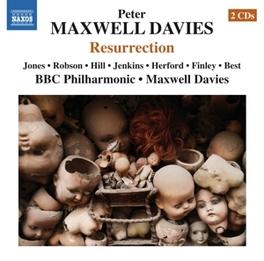 RESURRECTION BBC PHILHARMONIC/MAXWELL DAVIES P. MAXWELL DAVIES, CD