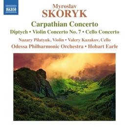 CARPATHIAN CONCERTO ODESSA P.O./HOBART EARLE M. SKORYK, CD