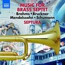 MUSIC FOR BRASS SEPTET WORKS MY BRAHMS/BRUCKNER/MENDELSSOHN/SCHUMANN