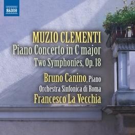 PIANO CONCERTO IN C MAJOR BRUNO CANINO M. CLEMENTI, CD