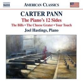 PIANO'S 12 SIDES JOEL HASTINGS C. PANN, CD