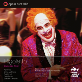 RIGOLETTO SYDNEY 2010 G. VERDI, CD
