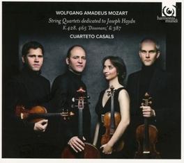 STRING QUARTETS DEDICATED CUARTETO CASALS W.A. MOZART, CD
