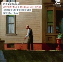 SYMPHONY NO.6 LUZERNER S.O./JAMES GAFFIGAN A. DVORAK, CD