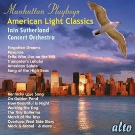 MANHATTAN PLAYBOYS-AMERIC CONCERT ORCHESTRA, CD