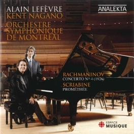 CONCERTO NO.4/PROMETHEE LEFEVRE/ORCHESTRE SYMPHONIQUE RACHMANINOV/SCRIABIN, CD