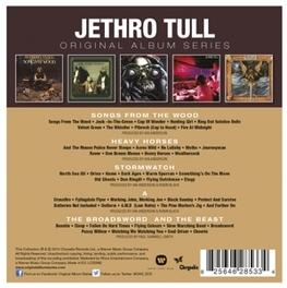 ORIGINAL ALBUM SERIES *SONGS FROM THE WOOD/HEAVY HORSES/STORMWATCH/BROADSWORD JETHRO TULL, CD