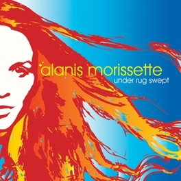 UNDER RUG SWEPT 180 GRAM / INSERT / 2000 CPS ON BLUE TRANSPARENT VINYL ALANIS MORISSETTE, LP